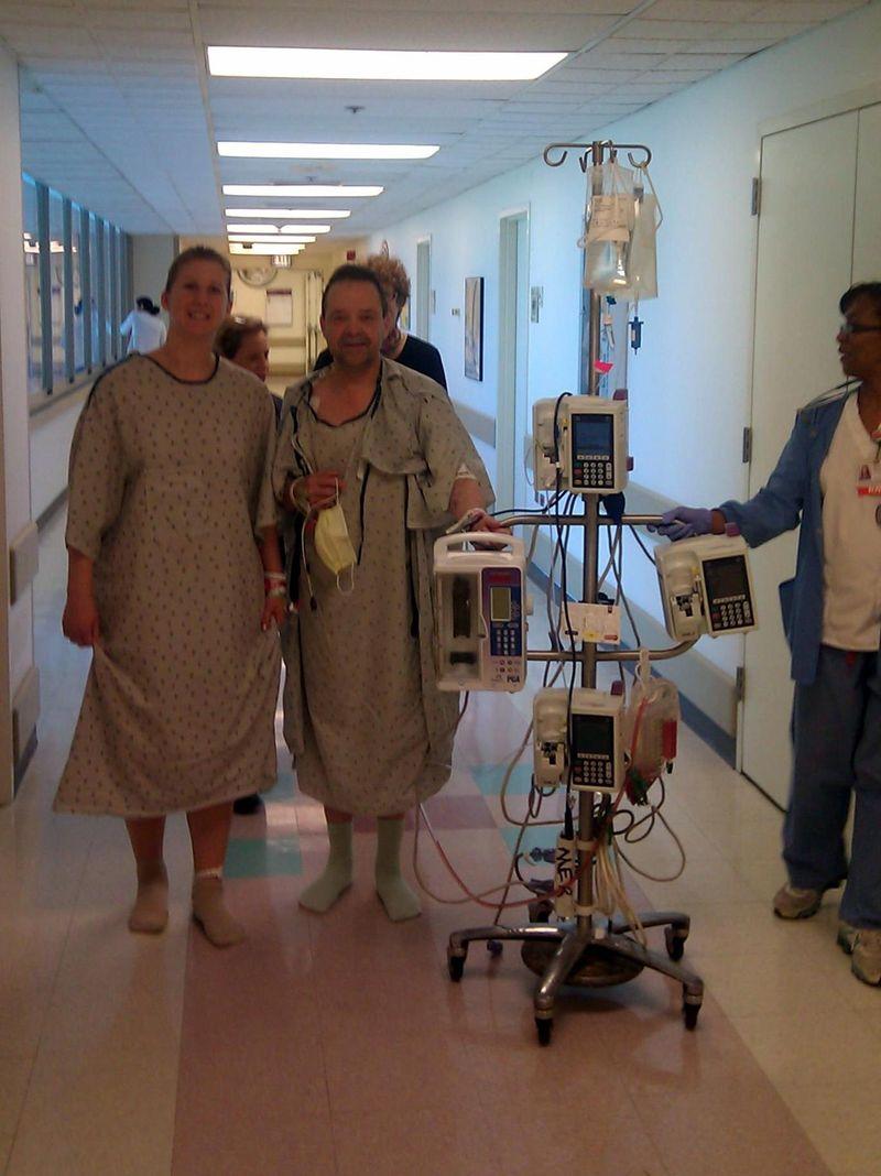 Alex & Steve Hospital 2012