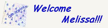 Welcomemelissajpg